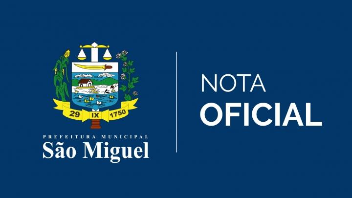 Prefeitura de São Miguel emite nota sobre reajuste salarial dos profissionais do magistério