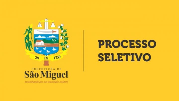 Prefeitura divulga resultado final de seleção e abre novo processo para vagas remanescentes