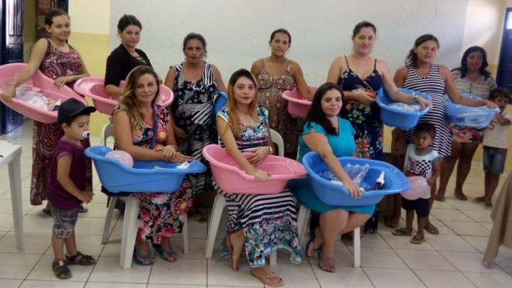 CRAS reúne gestantes do Programa Nascer Feliz