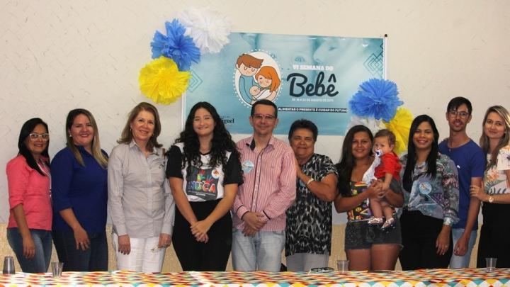 3º Fórum da Primeira Infância abre oficialmente a 6ª SEMANA DO BEBÊ