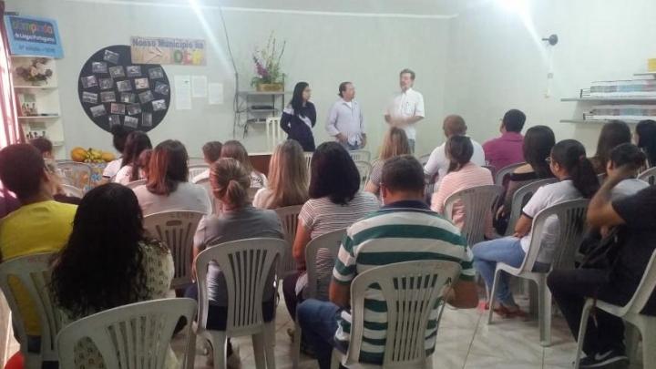 """Prefeitura de São Miguel promove palestra """"Cultura, Educação e Agroecologia"""""""