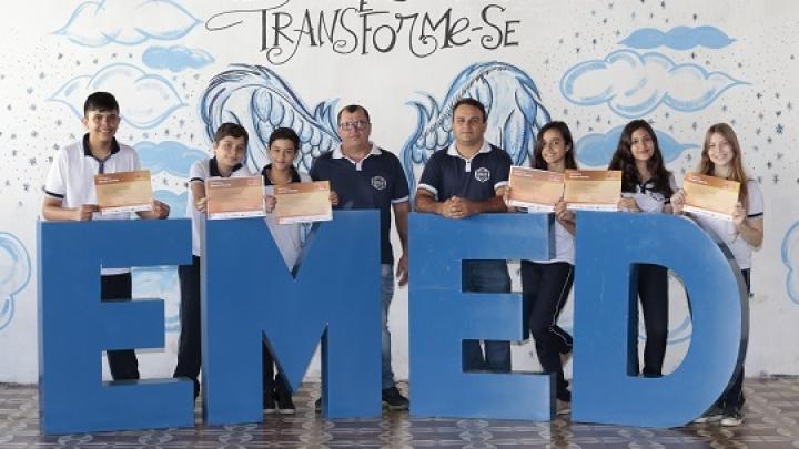 Alunos da Escola Municipal Elisiário Dias são destaque em Olimpíada de Matemática