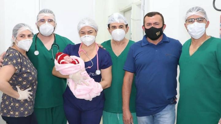 Reabertura do Centro Cirúrgico do Hospital Municipal garante o nascimento de micaelenses.